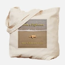 One Child at a Time Tote Bag