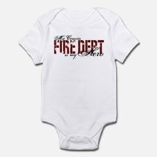 My Cousin My Hero - Fire Dept Infant Bodysuit