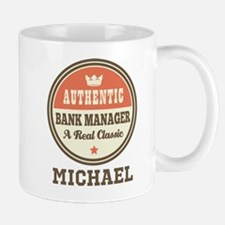 Personalized Bank Manager Gift Mugs