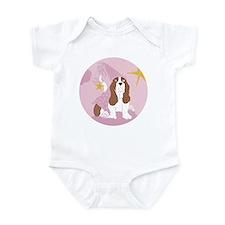Baby Basset Princess Infant Bodysuit