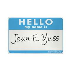 Jean E. Yuss Rectangle Magnet (100 pack)