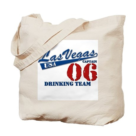 Las Vegas Drink Team (Dk.Blue) Tote Bag