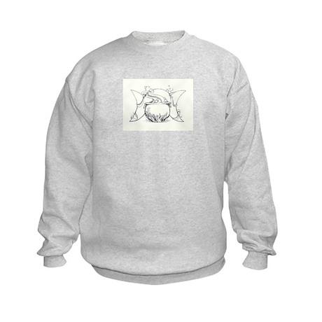 InkWitch Bubbling Cauldron Kids Sweatshirt