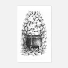 InkWitch Cauldron Rectangle Decal