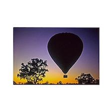 EArly Morning Balloon ride Australia Rectangle Mag