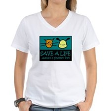 Save A Life Adopt a Pet Shirt