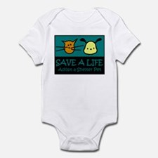 Save A Life Adopt a Pet Infant Bodysuit