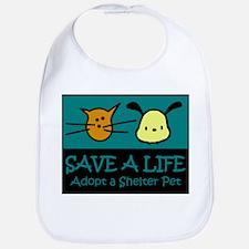Save A Life Adopt a Pet Bib
