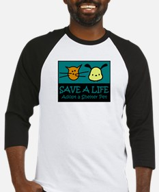 Save A Life Adopt a Pet Baseball Jersey