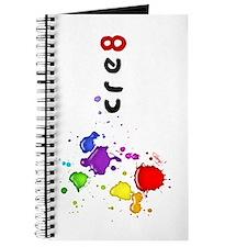 cre8 color splatter, Journal