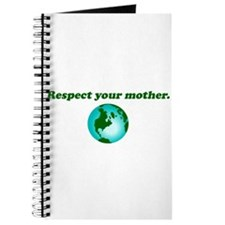 Respect Your Mother Earth Journal