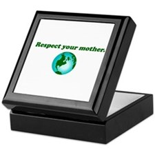 Respect Your Mother Earth Keepsake Box