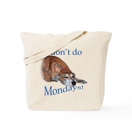 Greyhound Monday Tote Bag