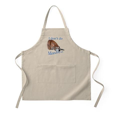 Greyhound Monday BBQ Apron