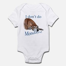 Greyhound Monday Infant Bodysuit