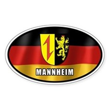 Mannheim coat of arms (white letters)