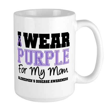 Alzheimer's Mom Large Mug