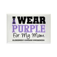 Alzheimer's Mom Rectangle Magnet