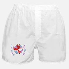 Crazy Cartoon Fox Boxer Shorts