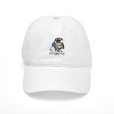Thug Pug Baseball Cap