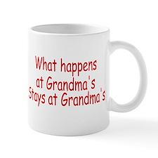 What Happens At Grandma's Stays At Grandma's Mug
