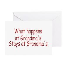 What Happens At Grandma's Stays At Grandma's Greet