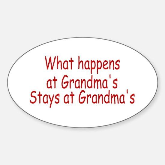 What Happens At Grandma's Stays At Grandma's Stick