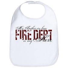 My Father-in-law My Hero - Fire Dept Bib