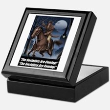 """Socialists Are Coming"" Keepsake Box"