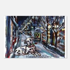 Dalmatian holiday Postcards (Package of 8)