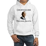 Barack Obama Christmas Hooded Sweatshirt