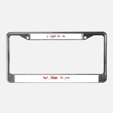 Unique Do you wanna buy a duck License Plate Frame