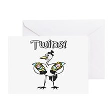 Twins! Greeting Card