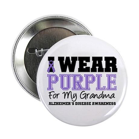 """Alzheimer's Grandma 2.25"""" Button (10 pack)"""