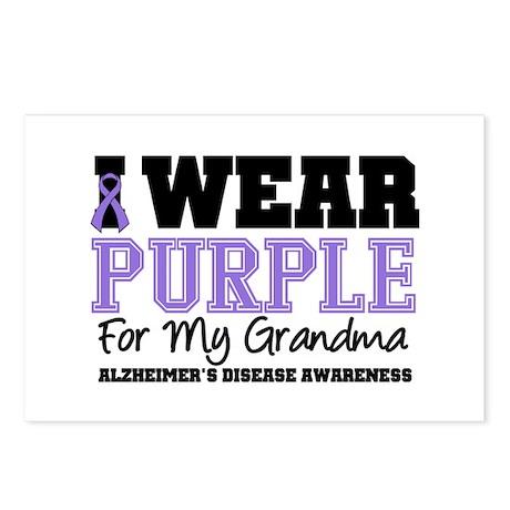 Alzheimer's Grandma Postcards (Package of 8)