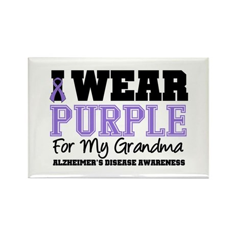 Alzheimer's Grandma Rectangle Magnet (10 pack)