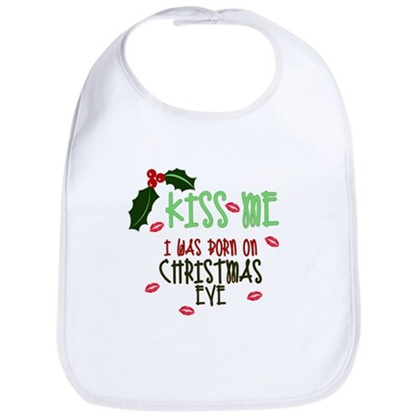 Born on Christmas Eve Bib
