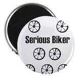 SERIOUS BIKER Magnet