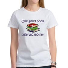 One good book deserves anothe Tee