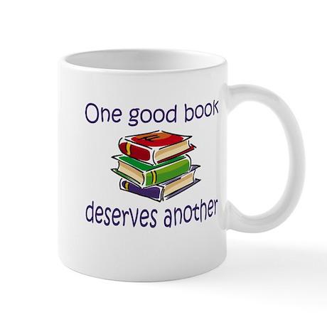 One good book deserves anothe Mug