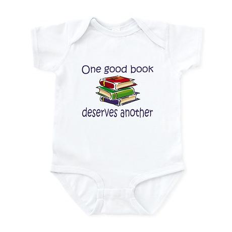 One good book deserves anothe Infant Bodysuit