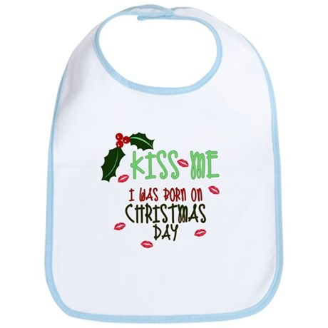 Born on Christmas Day Bib
