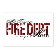 My Fiancee My Hero - Fire Dept Postcards (Package
