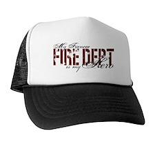 My Fiancee My Hero - Fire Dept Trucker Hat