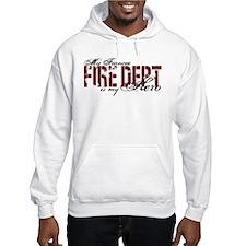 My Fiancee My Hero - Fire Dept Hoodie