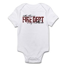 My Fiancee My Hero - Fire Dept Infant Bodysuit