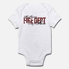 My Fiancee My Hero - Fire Dept Infant Bodysuit