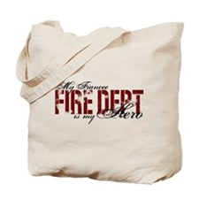 My Fiancee My Hero - Fire Dept Tote Bag