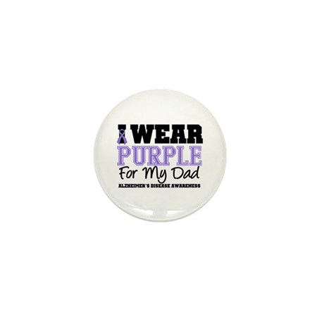 Alzheimer's Dad Mini Button (10 pack)