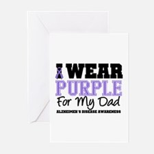Alzheimer's Dad Greeting Cards (Pk of 10)